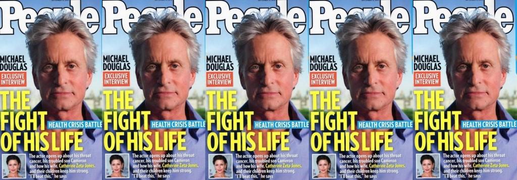 michael douglas magazine covers